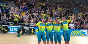 Australia Blitz The Track In Opening Commonwealth Games Cycling Events