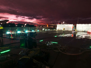 Visual Landing Aids system upgrade completed on HMAS Choules