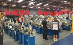 Three day tool and machinery sale for wood, metal and more