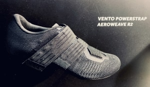 First Look: Fizik 'Vento Powerstrap Aeroweave' Shoe At Eurobike