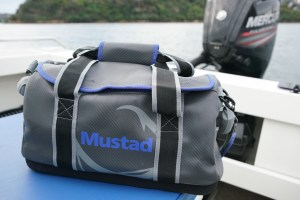 Mustad Graphite tackle and travel bags review