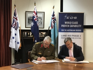 Defence signs Boxer RWS contract with EOS
