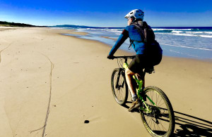 Destination Queensland: Mountain Biking Noosa's North Shore Beach