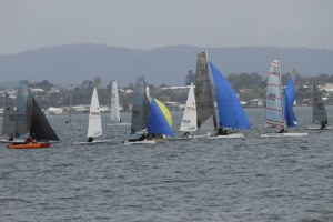 WinterBash OTB regatta attracts huge fleet -151 boats