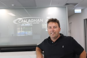 Callaghan Collision Centre takes it to the next level