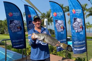 First King Ash Bay Barra caught in Million Dollar Fish competition