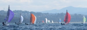 57 boats contest the Beyond Bank Regatta