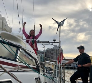 Jeanne Socrates completes circumnavigation at the age of 77