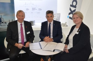 L3 Harris and iXblue sign systems support agreement