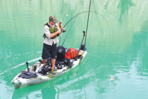 Pedal power: Kayak propulsion technology reviewed