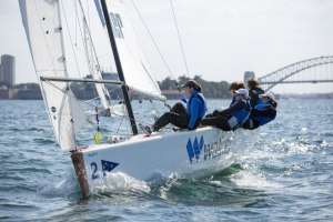 Sister combo too good on Day 1 of the Australian Women's Match Racing Championship