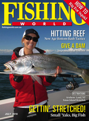 July edition of Fishing World out now