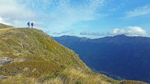 Rescued NZ hikers 'never lost hope'