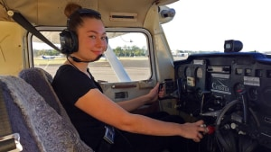 Scholarship helps Kate aim at the Flying Doctor