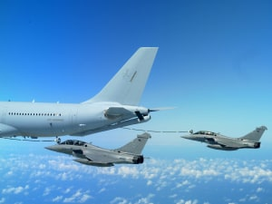RAAF tanker delivers 100 million pounds of fuel