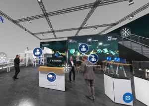 Krones trade-fair stand goes virtual