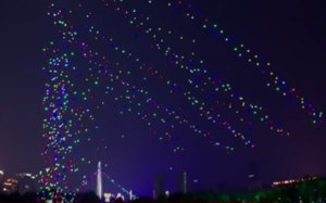New world record 1000 drones fly at Lantern Festival