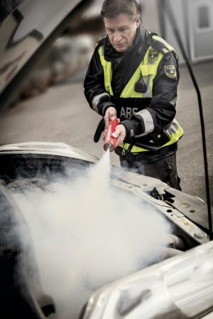 The Maus that roars: the smallest fire extinguisher with a big punch