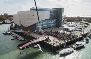 Team Ineos fourth AC75 to launch