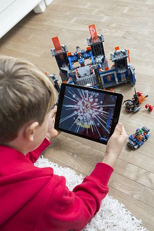 Lego connects digital gaming to physical play