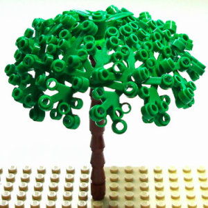 Strides in sustainability: Lego aims high
