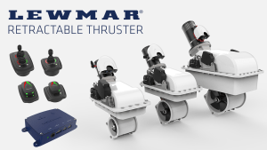 BLA Trade Talk: New Lewmar Retractable Thruster range