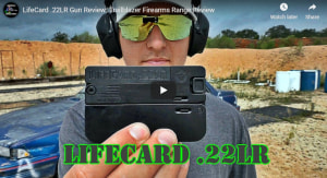 .22 LifeCard - Credit Card Sized .22