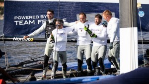 Franck Cammas and Team NORAUTO come out on top at the GC32 Villasimius Cup
