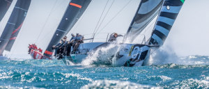 Super fast Quantum Racing are on song in Cascais wind and waves