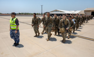 Marine Corps rotation to Darwin revived