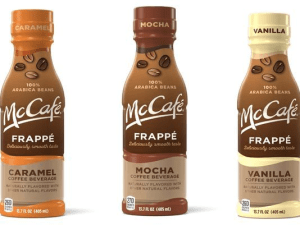 McDonald's to bottle McCafe drinks for US retail market