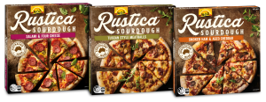 Rustic, sourdough pizzas for the perfect night in
