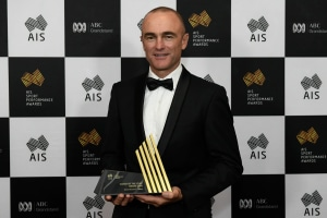 Sailing wins two categories at AIS Awards