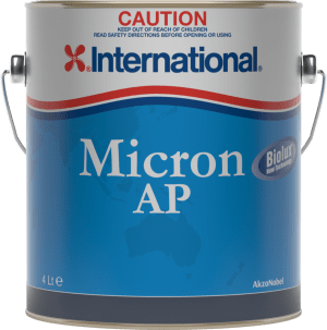 New International antifoul paint especially for warmer water
