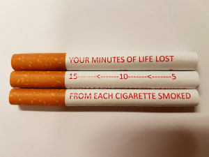 Graphic cigarette warnings running out of puff