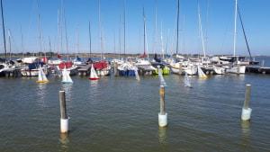 Strong turnout for Goolwa Week's radio yacht regatta