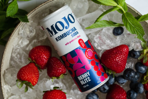 Find your inner MOJO with prebiotic kombucha