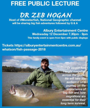 Monstrous Fish Conference at Albury