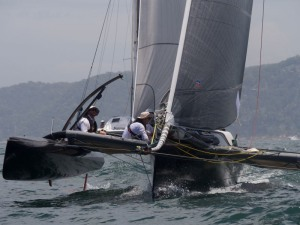 NE breeze greets the fleet for the start of Pittwater to Paradise