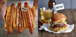 Plant-based hot dog, burger launch in Australia