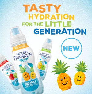 Child-friendly hydration hits shelves