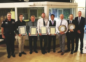 Search and rescue heroes honoured for saving lives