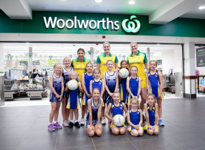 Woolworths partners with Netball Australia