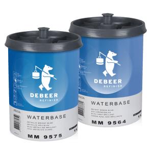 Two new blue toners from Debeer