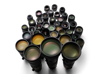 Nikon have just produced their 110 millionth lens