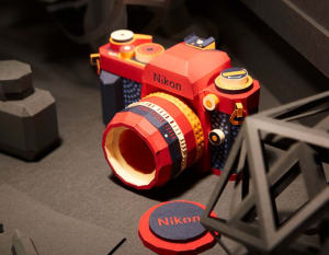 These beautiful cameras are all made out of paper