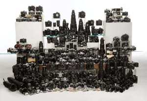 This is just a third of one of the biggest Nikon collections in the world