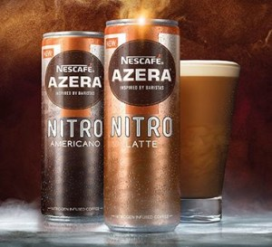 Nestlé launches nitrogen cans for chilled coffee