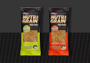 Kellogg selects sporty look for Nutri-Grain bars