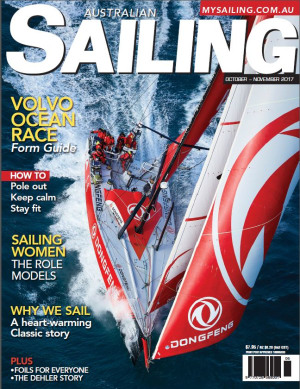 Volvo preview, foiling explained, inspirational women and a heart-warming story in Australian Sailing